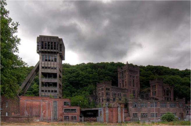 Figure 1: Hazard Collierres in Cheratte, retrieved from http://www.haikyo.org/